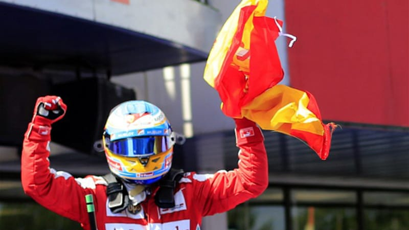 Alonso has not won since the Spanish Grand Prix in May [AFP]