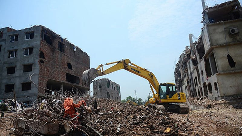 The collapse of an eight-storey building in Savar, on the outskirts of Dhaka, prompted the new legislation [AFP]