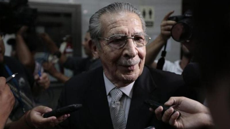 A Guatemalan court has determined that former dictator Efrian Rios Montt directed a campaign of genocide against the Ixil between 1982 and 1983 [Reuters]