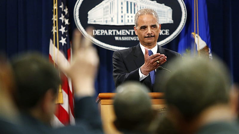 The US Attorney General said on Tuesday he had ordered the FBI to open a criminal probe into the matter [Reuters]