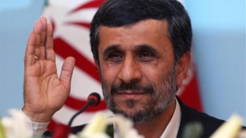 "The Iranian people are distinctly aware that ""after eight years under President Ahmadinejad the economy is ruined,"" writes author[AP]"