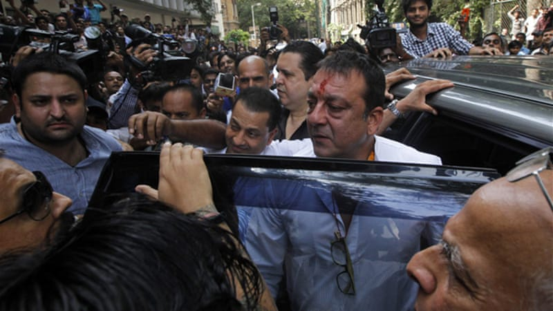 Sanjay Dutt served 18 months in jail before being released on bail in 2007 pending an appeal [AP]