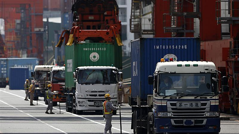 Japan's exports were battered in June as a trade row with South Korea deepened and Trump puts pressure on Tokyo to accept US farm produce and curb car exports to the US [Reuters]