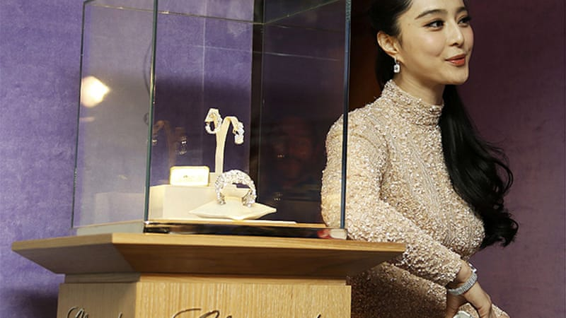 Actress Fan Bingbing was among the stars to attend a Chopin event hours before the heist [Reuters]