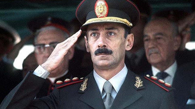 Videla was the architect of a repressive system that killed at least 9,000 people in Argentina's 'Dirty War' [AFP]