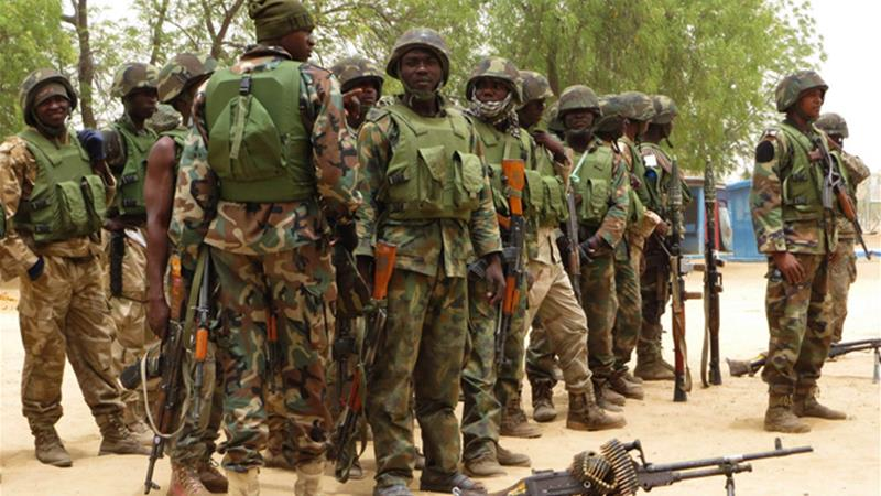 The military has battled fighters in Borno state for the past four years [Reuters]