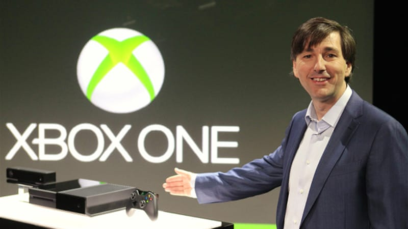 Don Mattrick, president of Microsoft's Interactive Entertainment Business, introduced Xbox One in Washington [EPA]