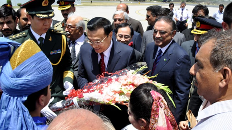 Keqiang meets on Wednesday with the president, Asif Ali Zardari, and on Thursday with the prime minister-elect [EPA]