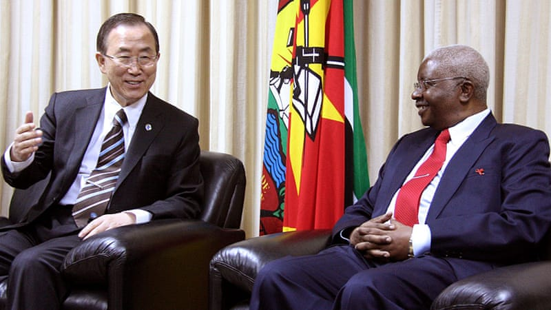 UN chief Ban Ki-moon has begun an African tour aimed at fostering lasting peace in the Great Lakes region [AFP]