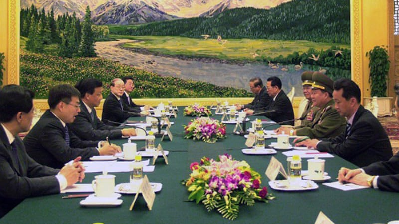 A North Korean delegation led by Choe Ryong-Hae is on a three-day visit to China [AFP]
