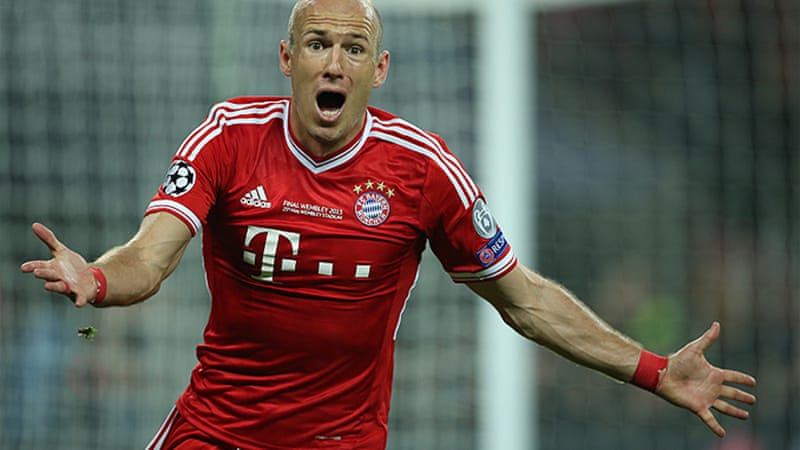 Dutchman Arjen Robben scored for Bayern Munich with a clever solo strike in the 89th-minute [EPA]