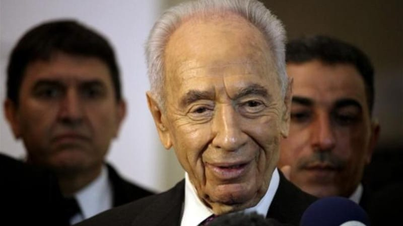 Israeli President Shimon Peres says it is time to restart serious negotiations and conclude a peace treaty [AP]