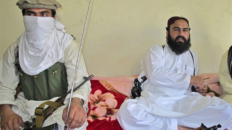 Rehman, right, had been tipped to succeed Hakimullah Mehsud as leader of the Pakistani Taliban [Reuters]