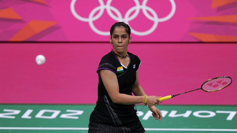 Women's world number three Saina Nehwal from India is one of the stars taking part [GETTY]