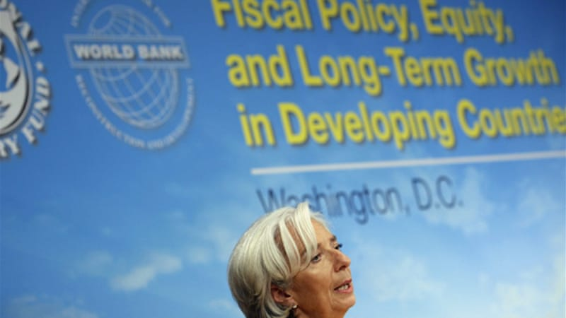 IMF chief Christine Lagarde said she saw no alternative to austerity in Europe [Reuters]