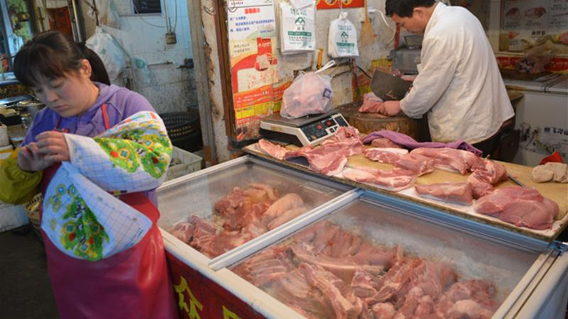 China tells Canada to stop meat shipments over bogus
