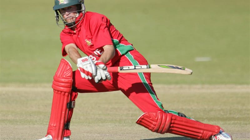 Williams hit a career-best 78 as he steered Zimbabwe to their target of 253 with 13 balls to spare [AFP]