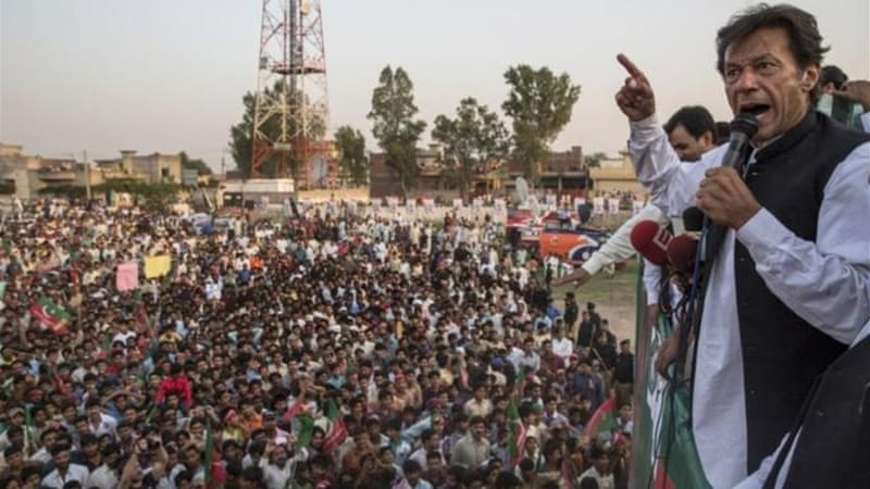 """The Pakistan Muslim League headed by former Prime Minister Nawaz Sharif will have strong showing in the Punjab province,"" writes Akbar Ahmed [Getty Images]"