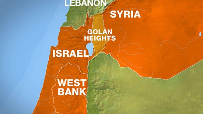 Resultado de imagem para israel e Síria