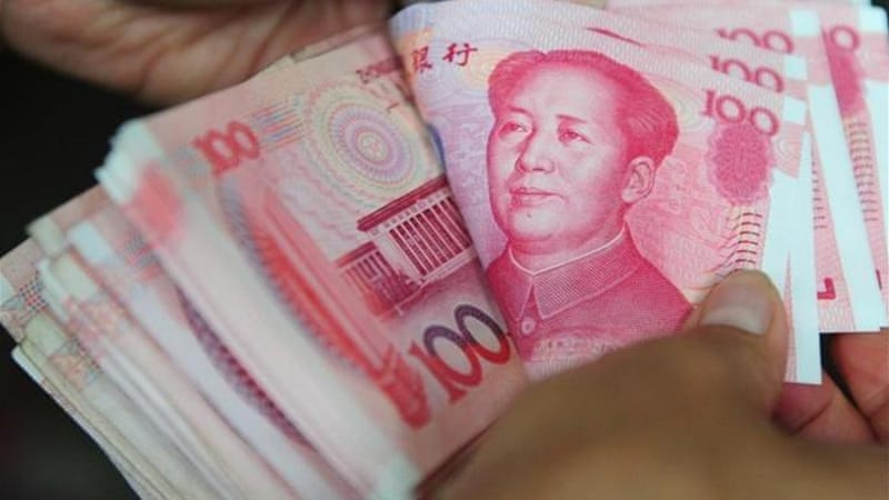 China accounted for an estimated 52 percent of the world's added liquidity in 2011 [AFP]