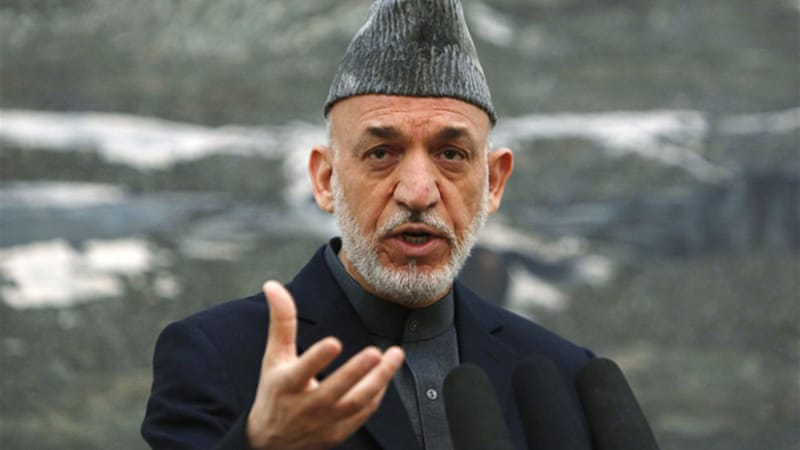 President Hamid Karzai said Afghanistan wants US commitment to boost security and strengthen forces [Reuters]