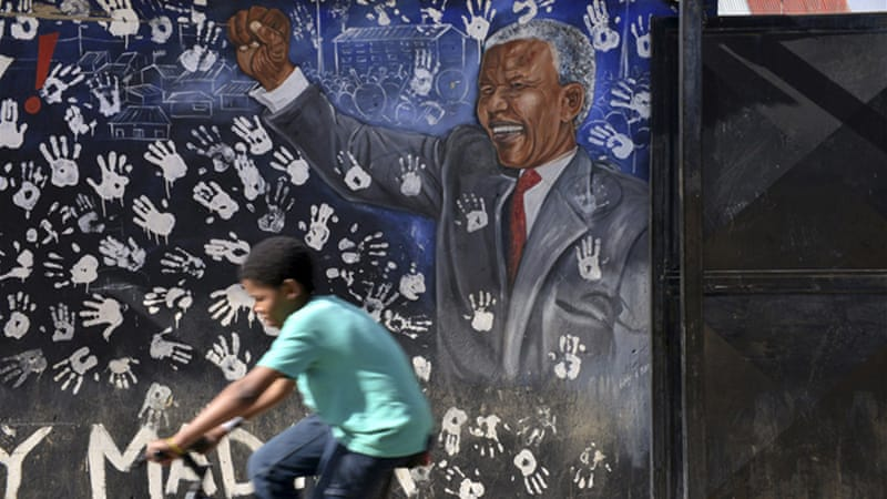 Mandela's admission to hospital with a serious lung infection was his fourth since December last year [Reuters]