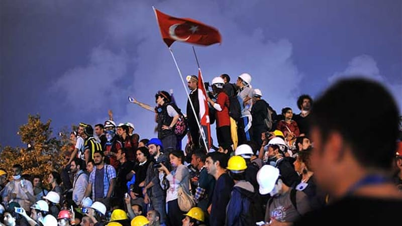 The Gezi Park protests marked a new height in tension in Ankara-Brussels relations [AFP]