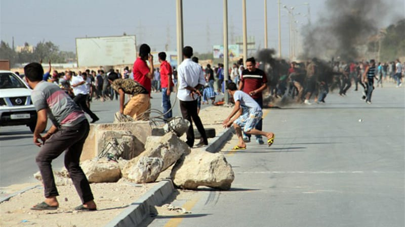 Benghazi has been the scene of many clashes with fears heightened that the city could witness a 'bloodbath' [AFP]