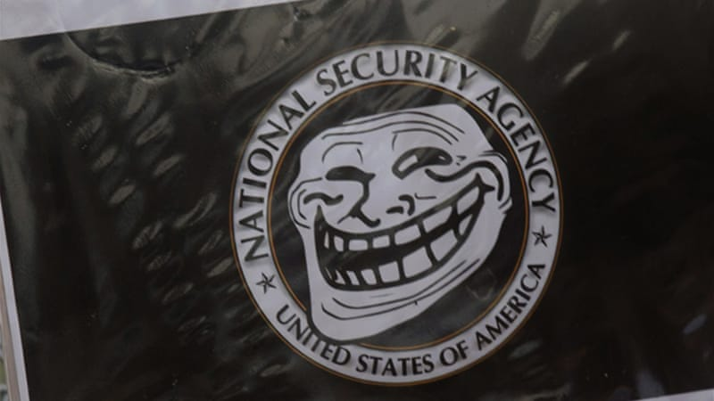 The NSA was targeted by an Anonymous 'trolling' operation in the days after Snowden's revelations [Reuters]