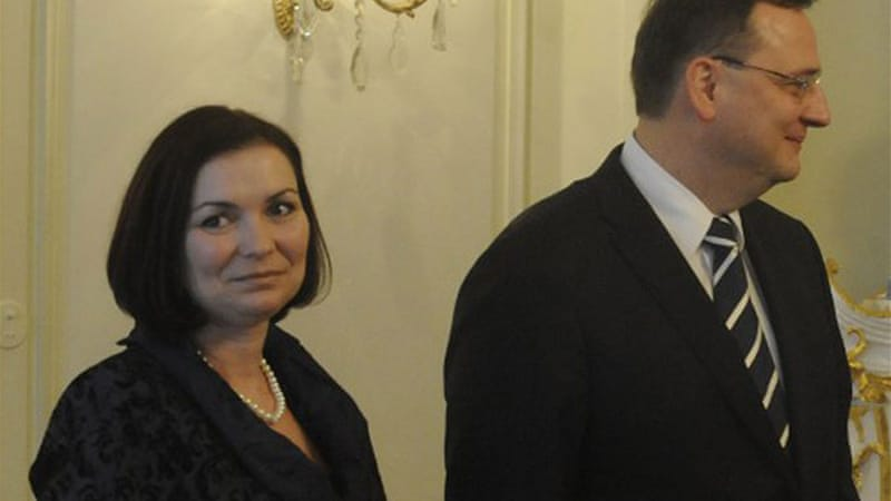 Necas had refused opposition calls to resign as he announced that he and his wife Radka had filed for divorce [AFP]