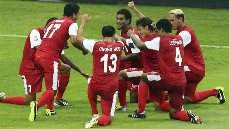 Oceania champions Tahiti had their moment in the sun with a goal in the  54th minute [Reuters]