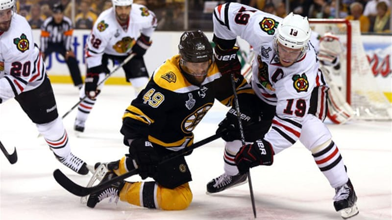 Game 5 of the series takes place in Chicago on Saturday with Game 6 in Boston on Monday [AFP]