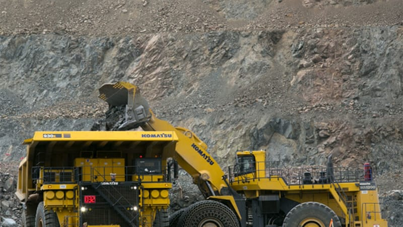 Oyu Tolgoi is predicted to boost Mongolia's economy by a third by 2020  [Getty Images]