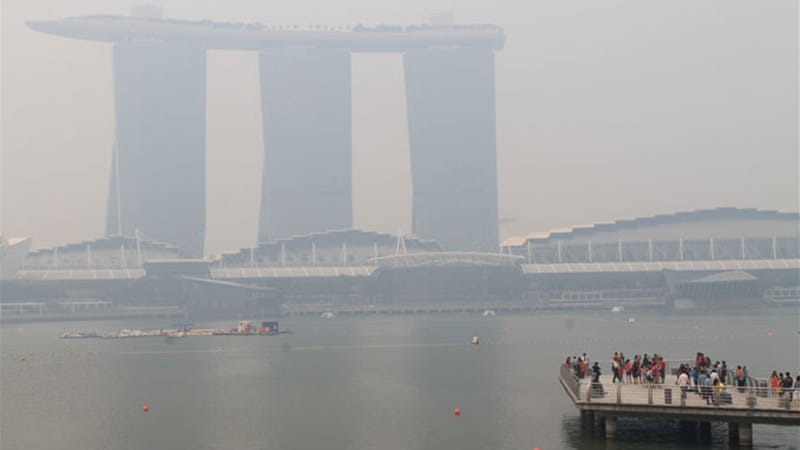 Singapore smog casts diplomatic cloud