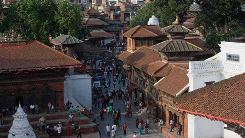 Kathmandu's Durbar Square is near the starting point for Newari traders' caravan trips [Melati Kaye/Al Jazeera]