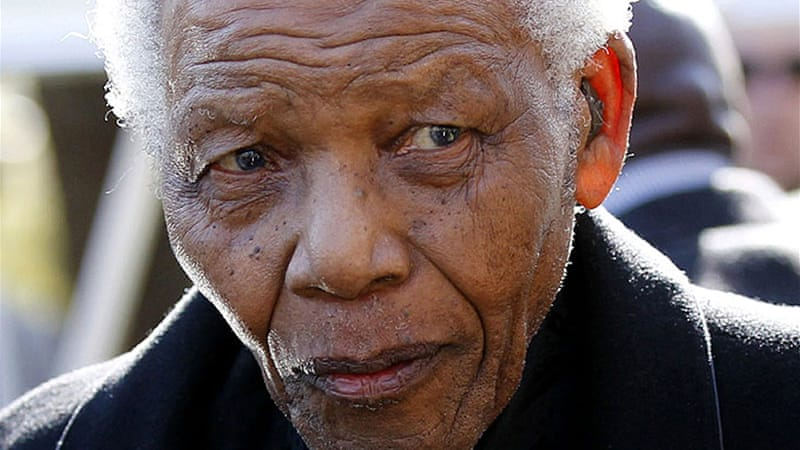 "Vice president Kgalema Motlanthe said ""Mandela belongs to all humanity"" [AFP]"