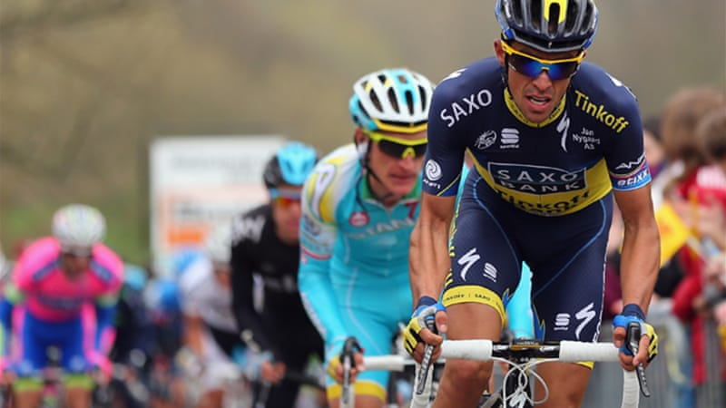 Returning former champion Contador enters the race with only one victory this season [GETTY]