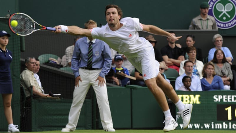Gulbis booked his place in the second round after a straight sets win over Eduardo Roger-Vasselin [EPA]