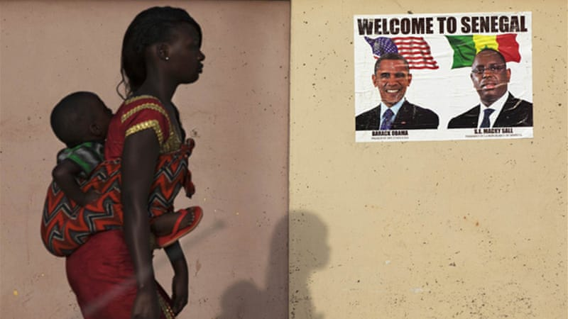 President Obama is currently on a week-long tour of Africa, the world's 'fastest-growing continent' [Reuters]