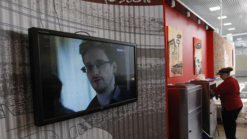 Snowden has been holed up in the transit area of Moscow's Sheremetyevo Airport since June 23 [Reuters]