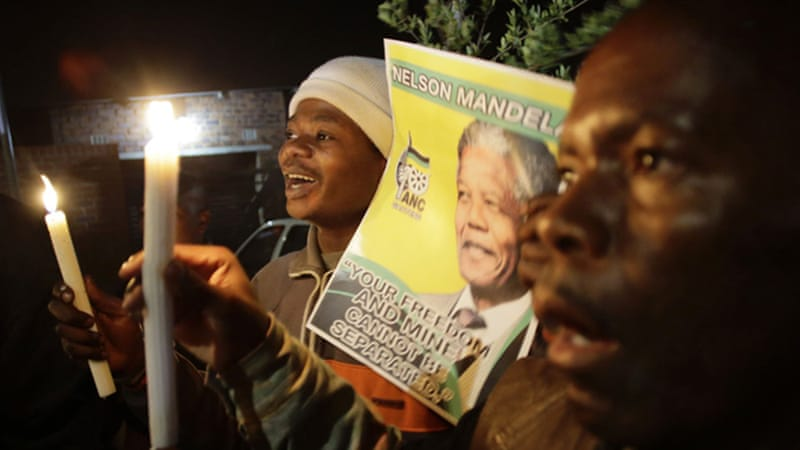 Mandela has been admitted to hospital four times since December 2012 [AFP]