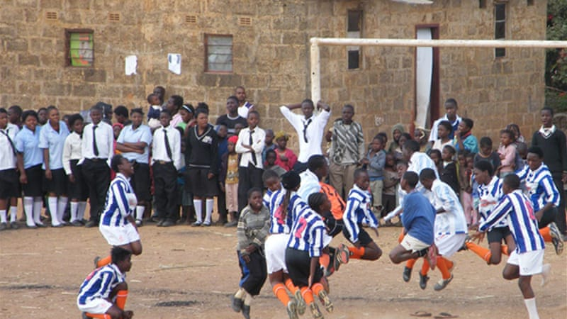 Sport in action provides coaching to around 10,000 children in Zambia every week [SIA]
