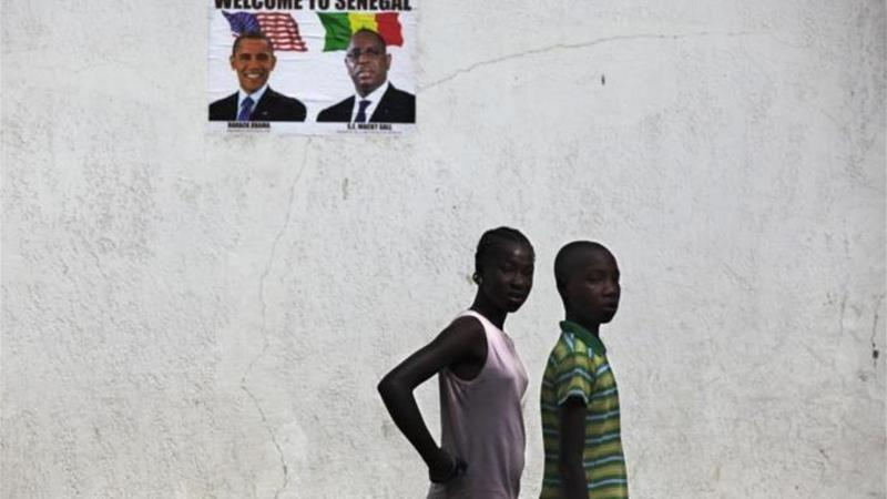 Obama is visiting Senegal until June 28 before travelling to South Africa and Tanzania [Reuters]