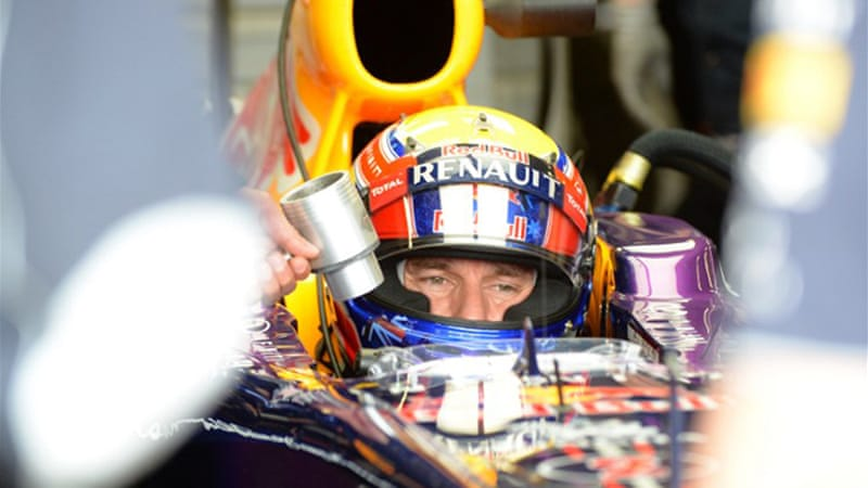 Webber is aiming for a hat-trick of wins in five years at this weekend's British GP [AFP]