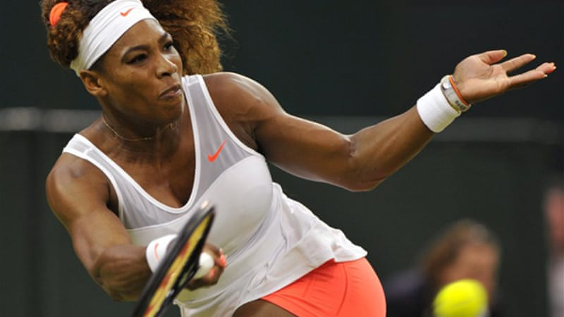 Ruthless Williams took just over an hour to beat 42-year-old Kimiko Date-Krumm [AFP]