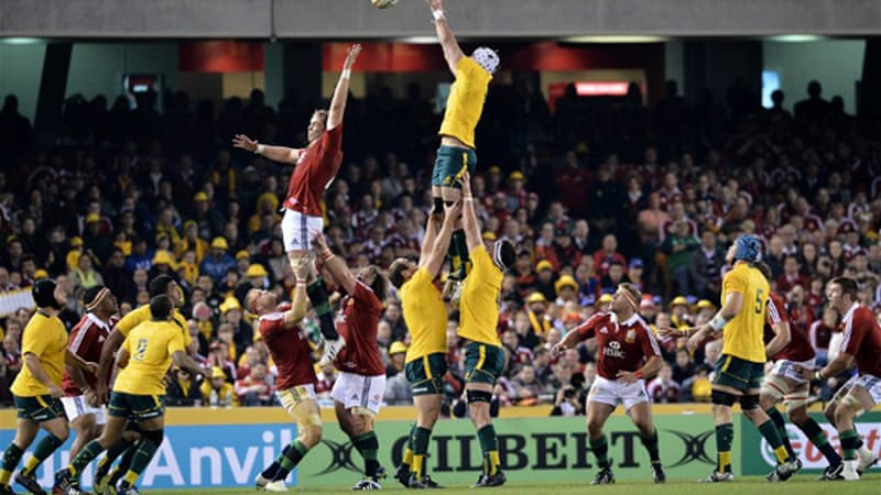 The Wallabies levelled the series 16-15 in Melbourne on Saturday night [AFP]