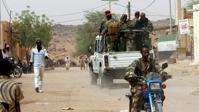 Mali's military is trying to free areas occupied by Tuareg rebels who say the government marginalises them [AFP]