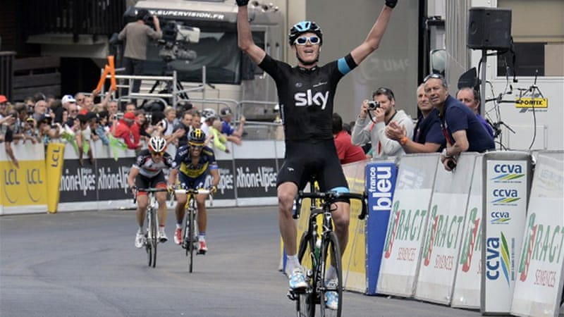 Sky leader Froome reeled in rival Alberto Contador to secure his yellow jersey [AFP]