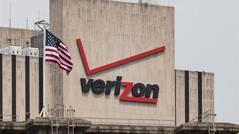 The US government has secretly obtained the phone records of customers of US giant Verizon for years [AFP]