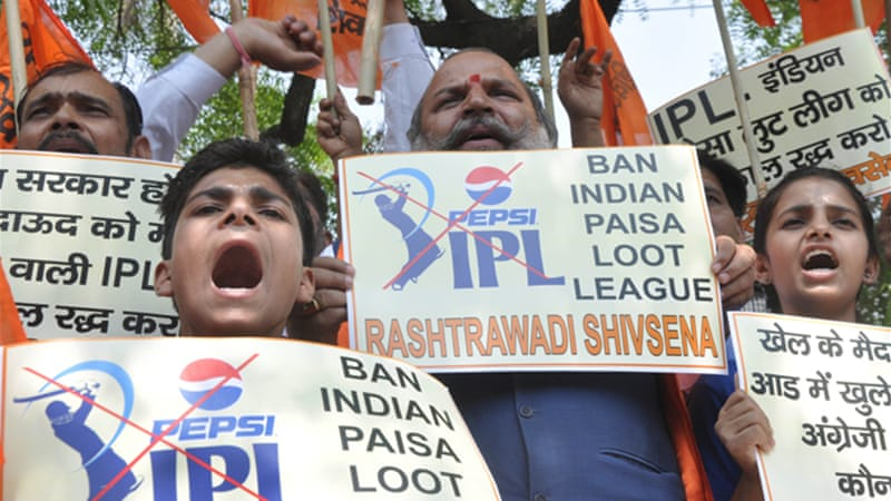 The betting and fixing scandal has shaken confidence in the game and angered fans across India [EPA]